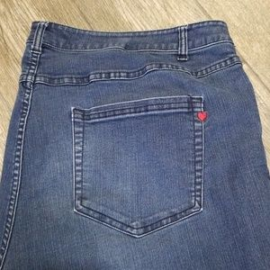 Denim 24/7 24w petite straight cut